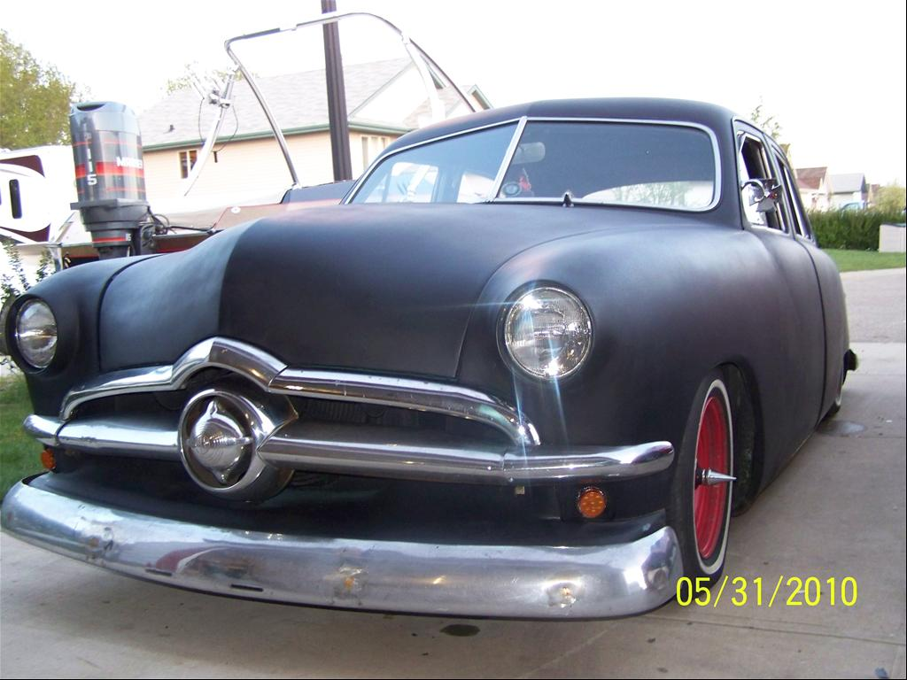1950 Ford custom 350 chev,