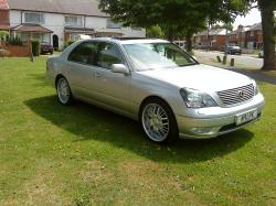 Lexus LS430 on 20
