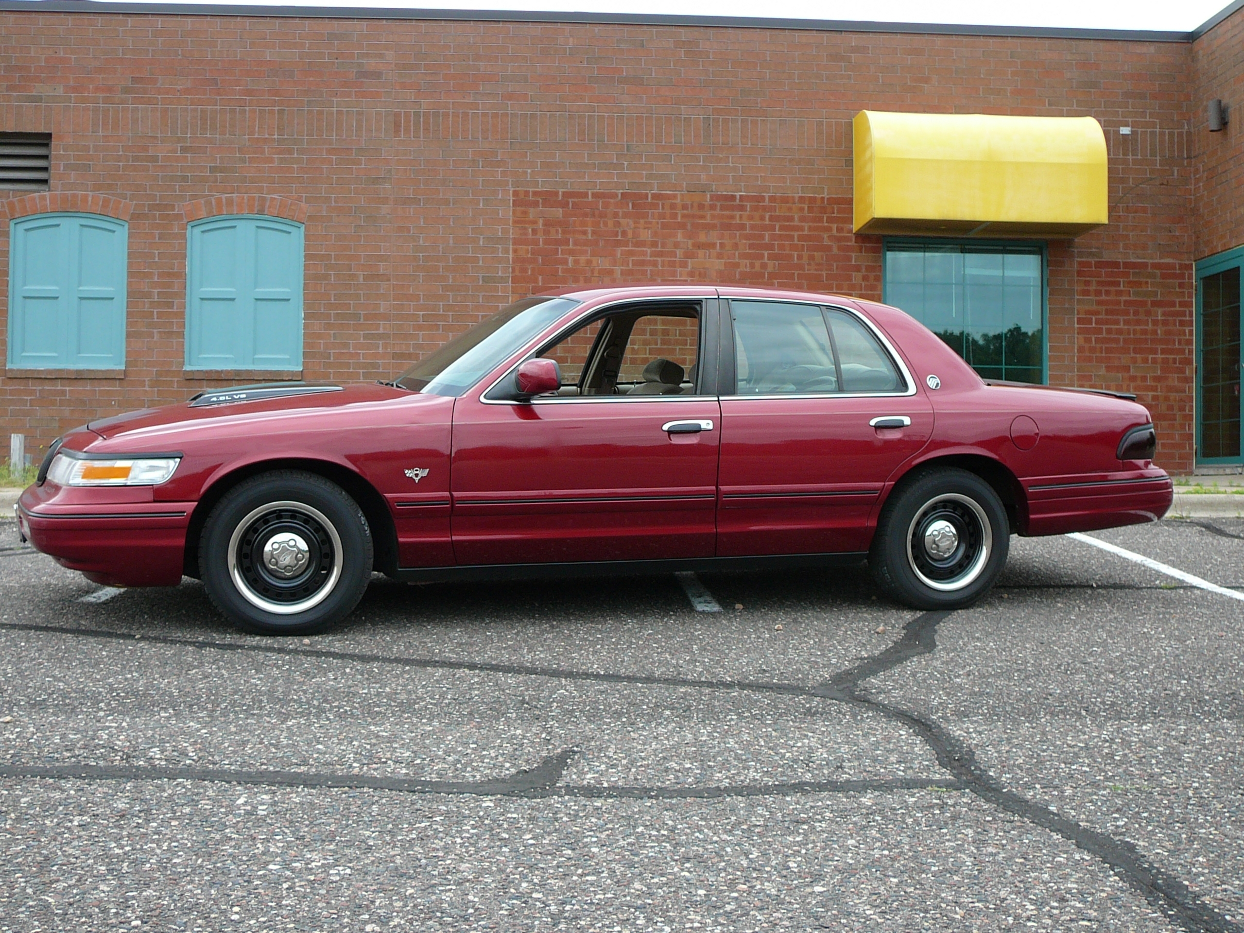 Mymerc1 S 1996 Mercury Grand Marquis Gs Sedan 4d In