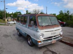east-bound 1966 Dodge A-Series
