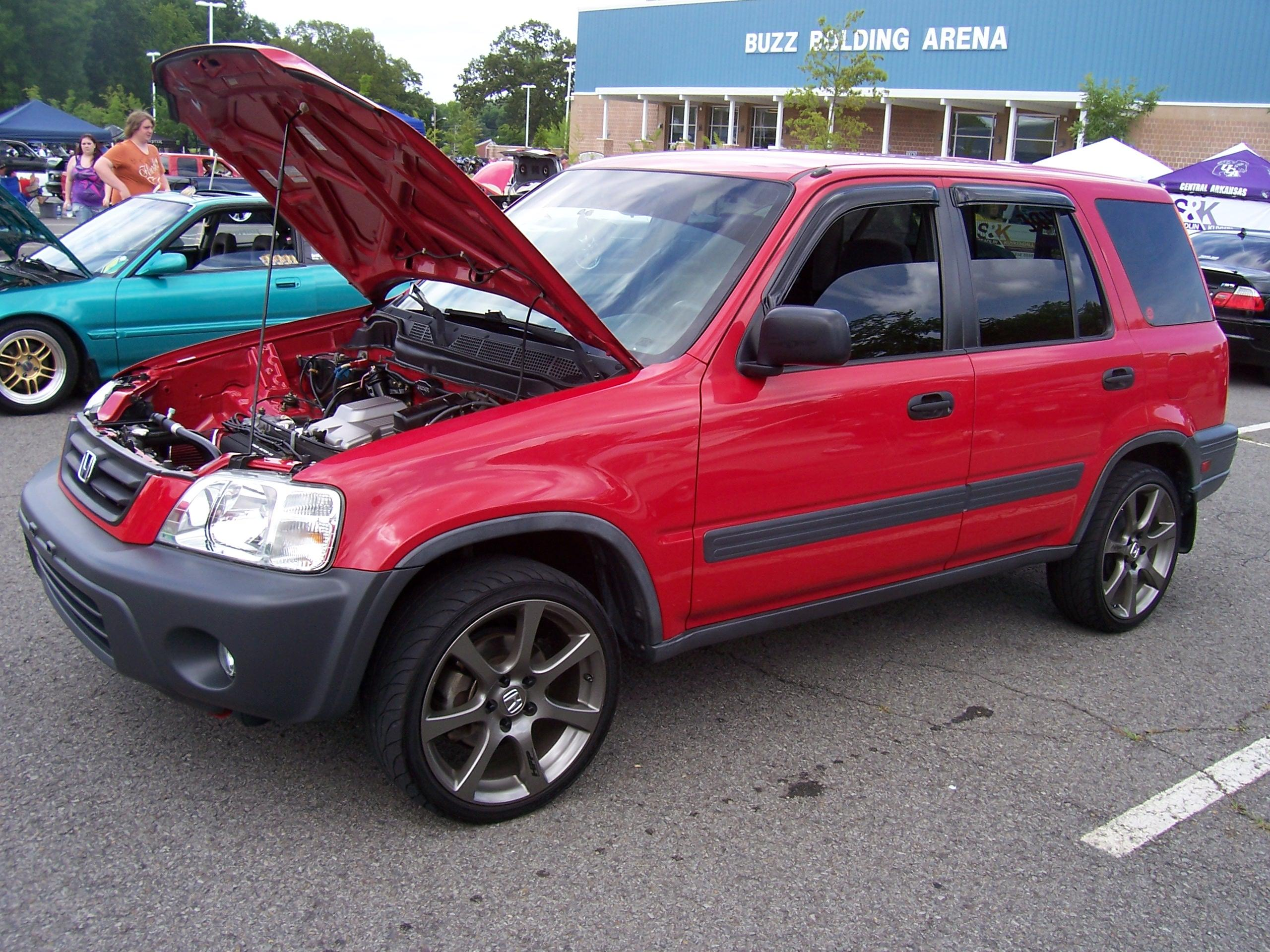 Lowered Honda Crv 2001 Honda cr v Lowered 18hfp