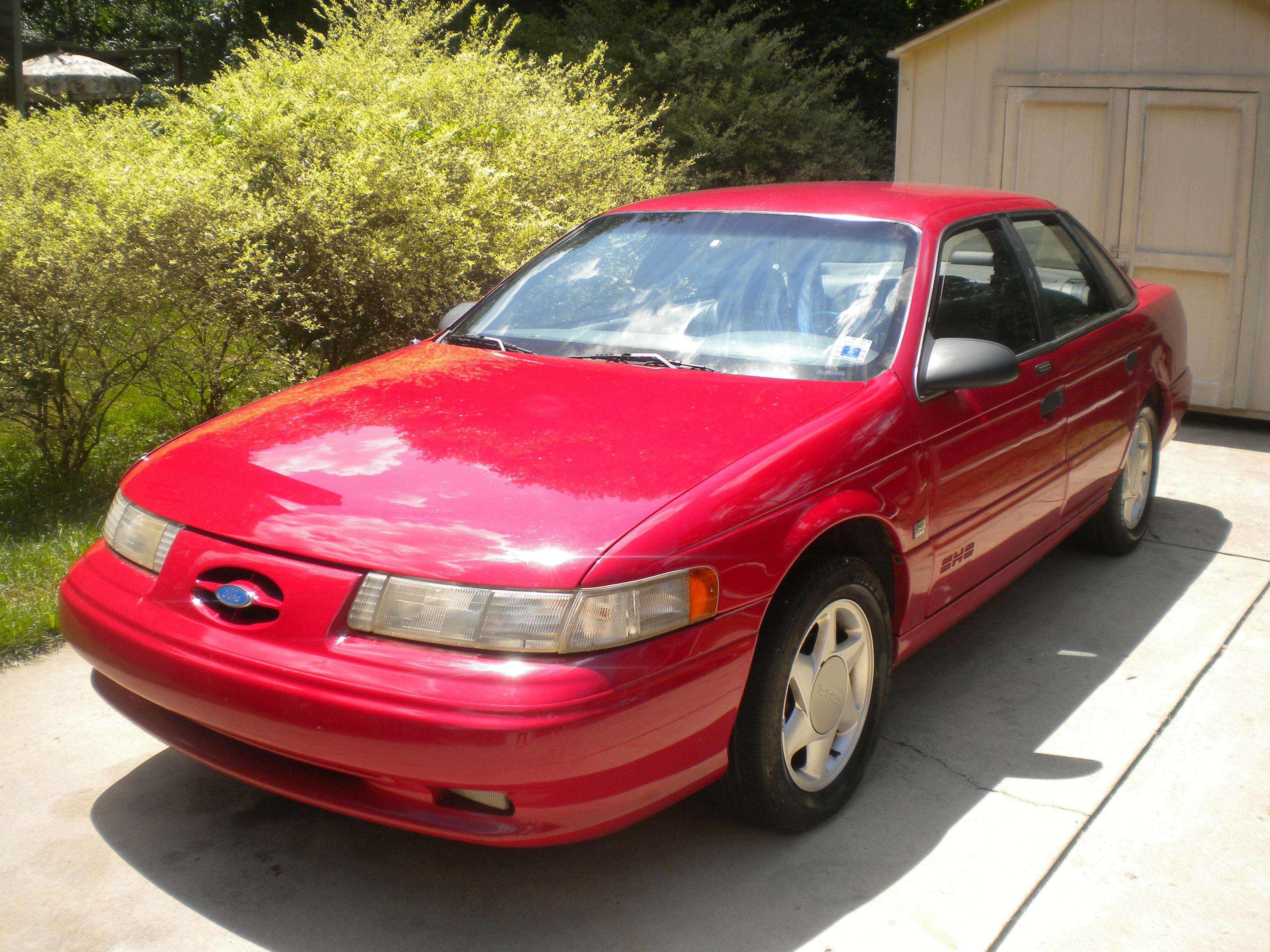 1992 ford taurus sho related infomation specifications weili automotive network. Black Bedroom Furniture Sets. Home Design Ideas