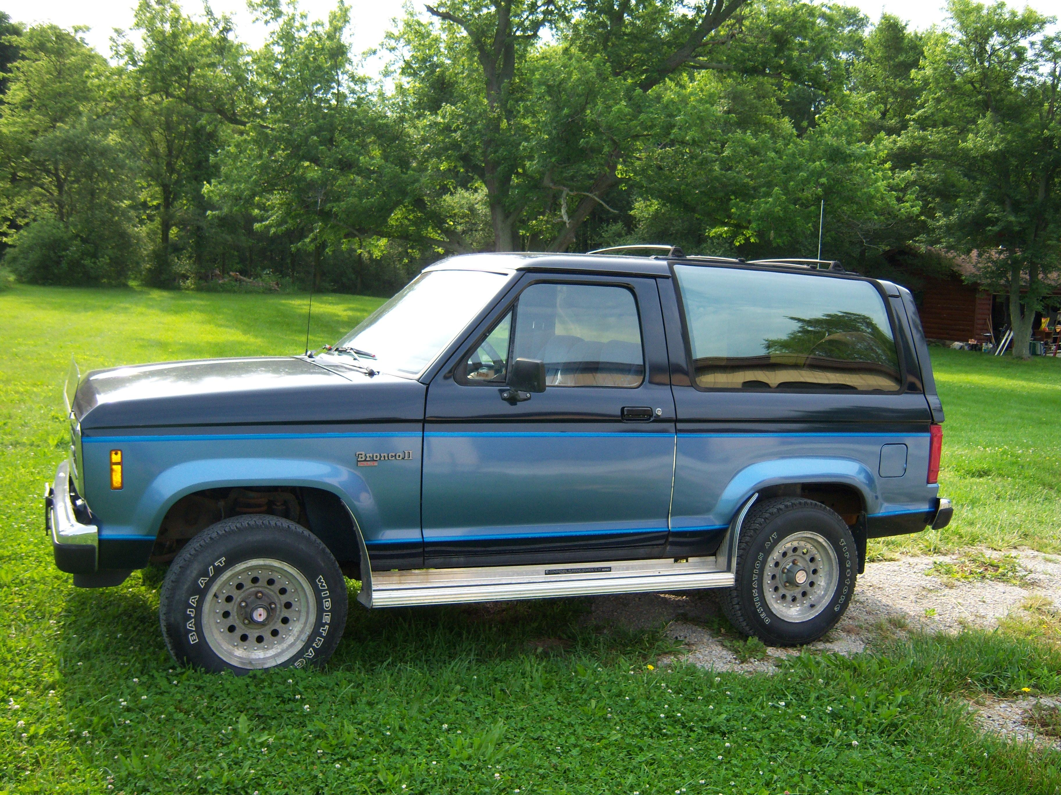 1988 ford bronco ii weight