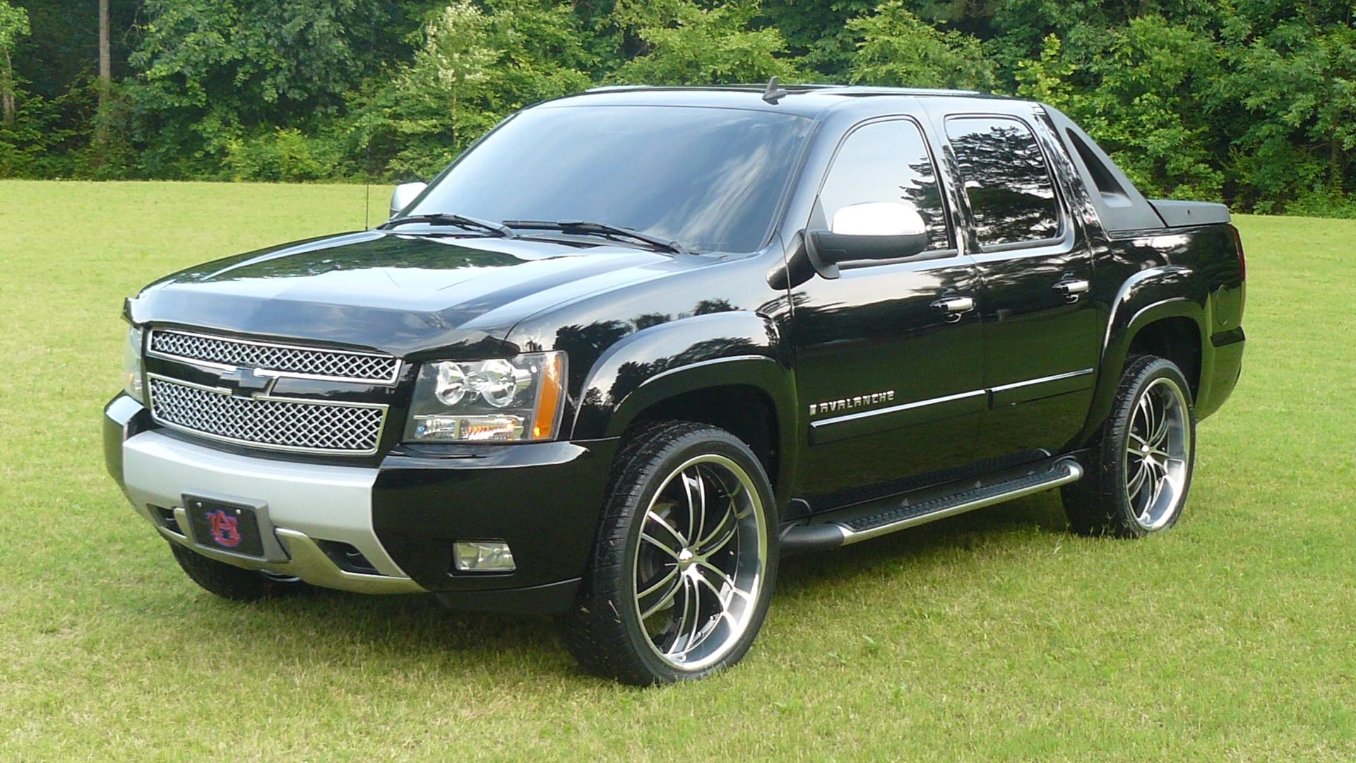 2008 z71avy 2008 chevrolet avalanche specs photos modification info at cardomain. Black Bedroom Furniture Sets. Home Design Ideas