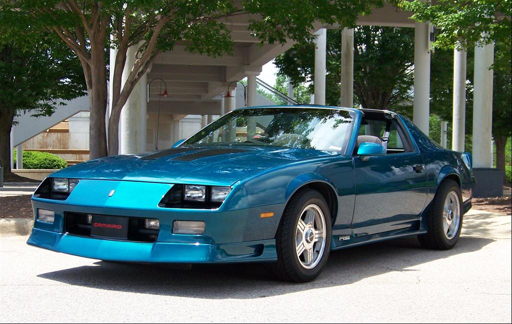 1992tealrs 39 s 1992 chevrolet camaro rs coupe 2d in cary nc. Black Bedroom Furniture Sets. Home Design Ideas