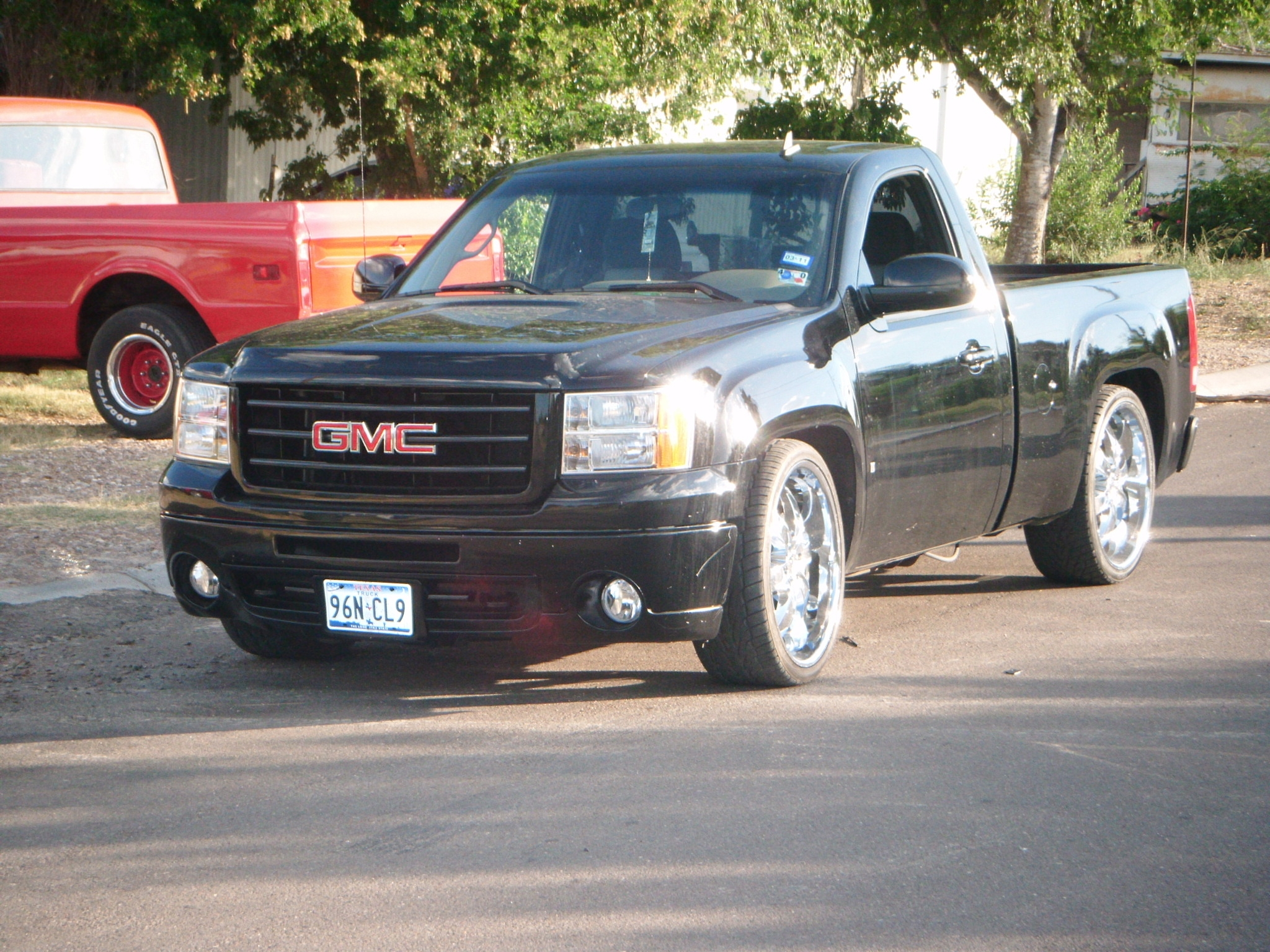 roggie9 2009 gmc sierra 1500 regular cab specs photos modification info at cardomain. Black Bedroom Furniture Sets. Home Design Ideas