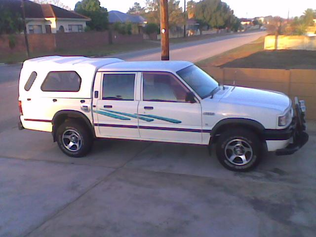 Another goosthuizen 1997 Ford Courier post... - 14569505