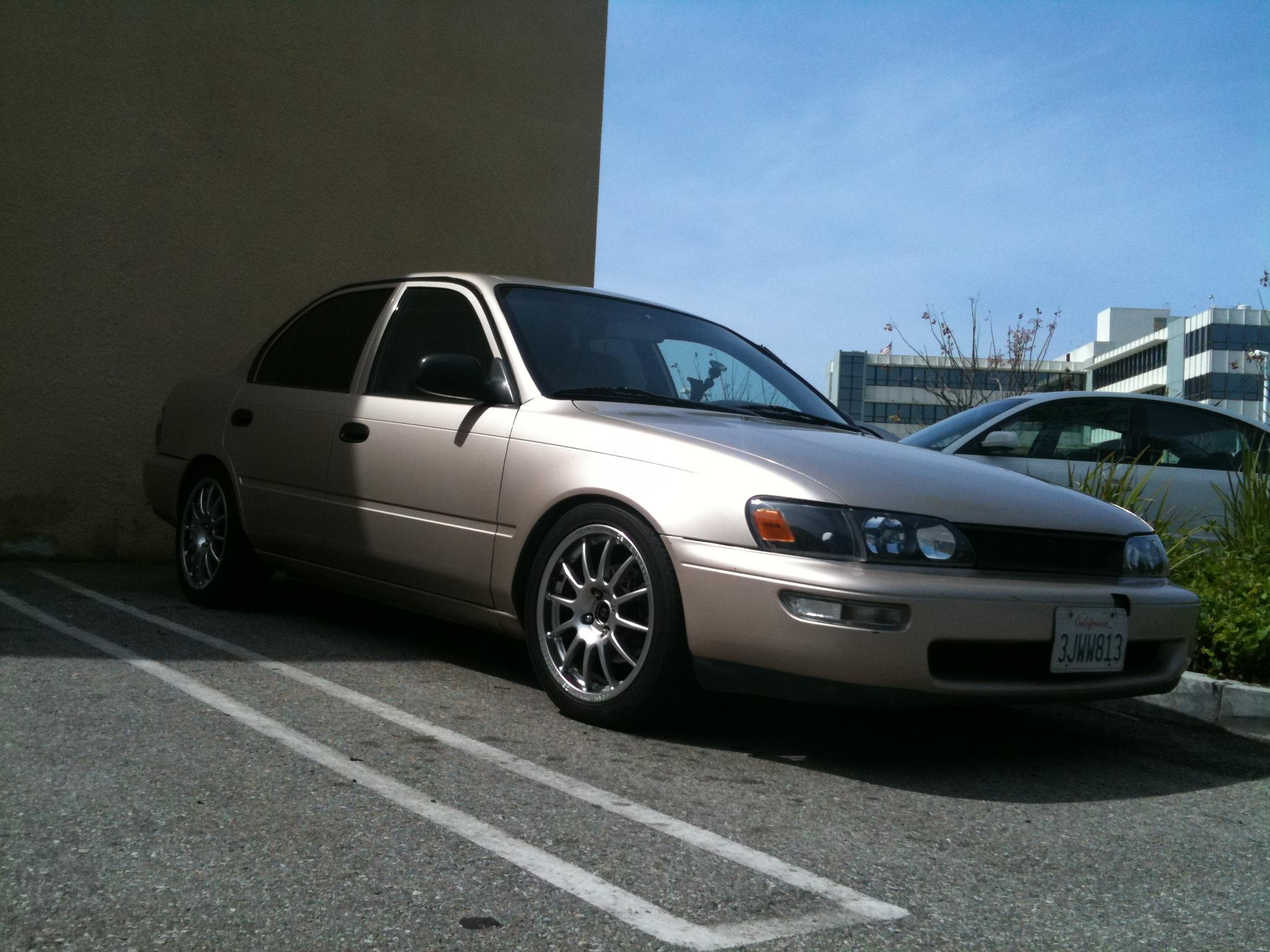 Mercedes Of Austin >> levin_pilot 1994 Toyota CorollaDX Sedan 4D Specs, Photos ...