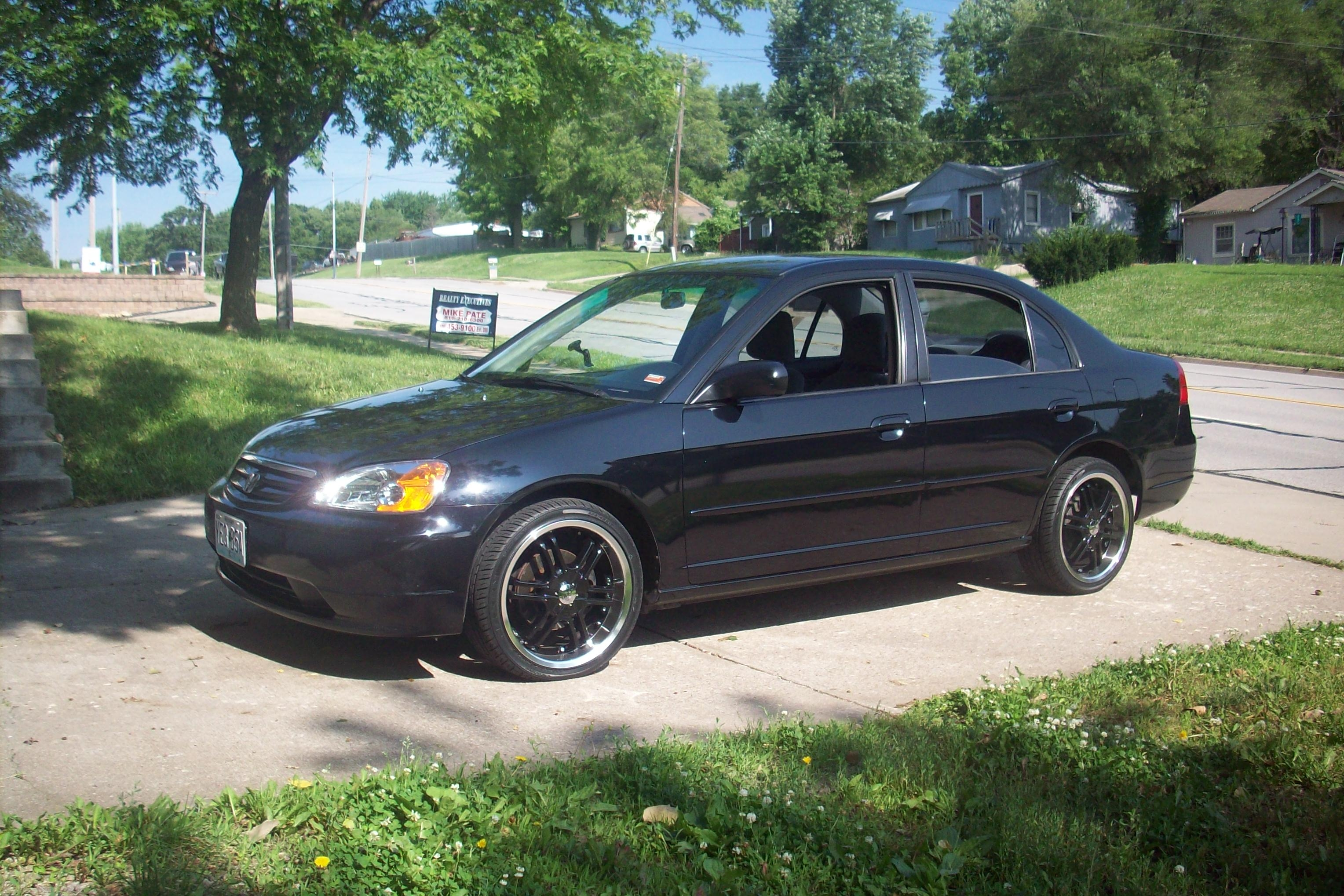 Dansblack4dr 2002 Honda Civiclx Sedan 4d Specs Photos Modification Info At Cardomain