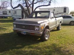 POOKIERam 1971 Chevrolet 1500 Extended Cab