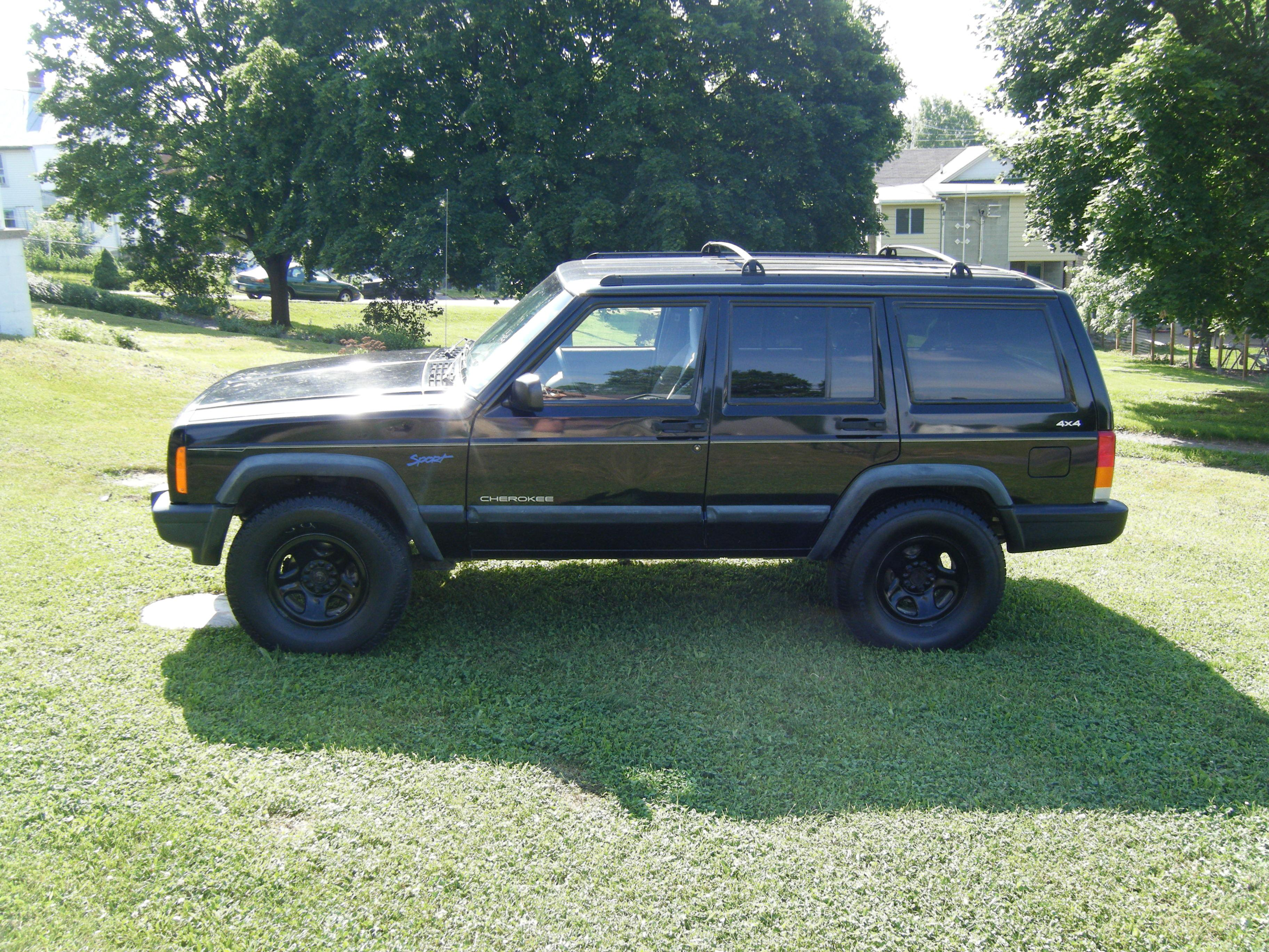 shawn flair 2000 jeep cherokeesport 2d specs photos. Black Bedroom Furniture Sets. Home Design Ideas