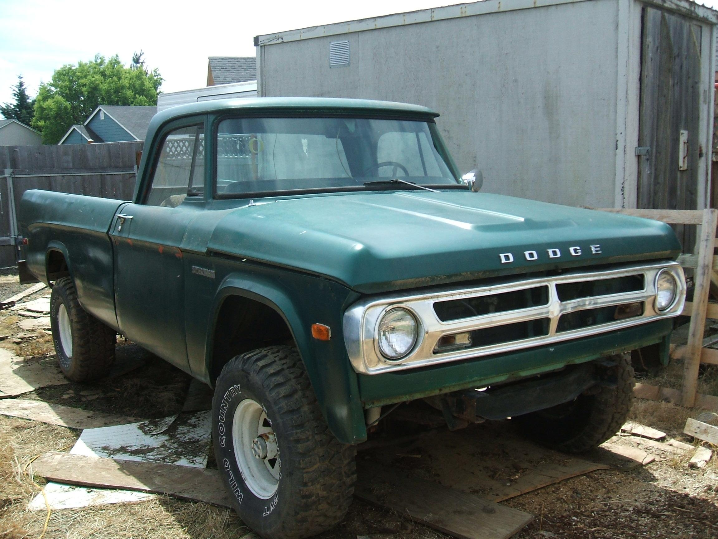 88ranger23turbo 1971 Dodge Power Wagon 14584282