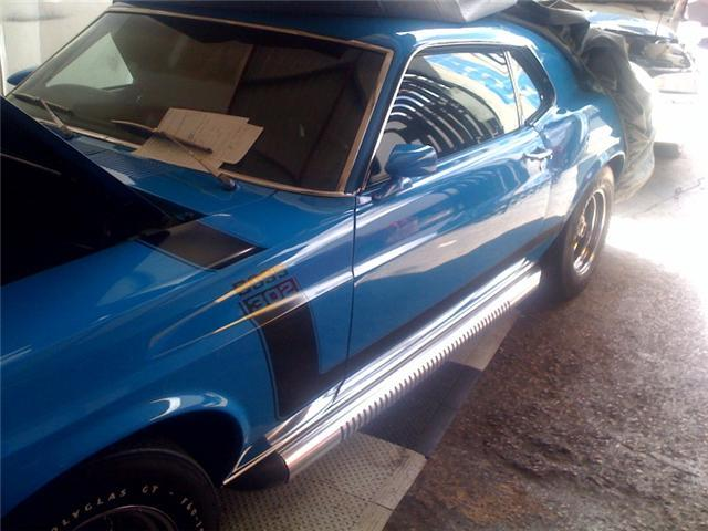 boss 302 1970 ford mustang specs photos modification info at cardomain. Black Bedroom Furniture Sets. Home Design Ideas