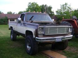 78chevysilverado 1978 Chevrolet Silverado 2500 Regular Cab