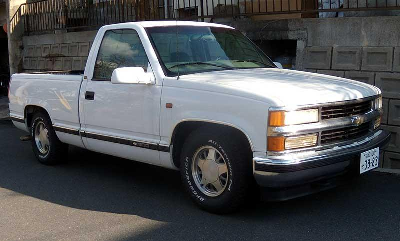 Hiroemon 1997 Chevrolet 1500 Regular Cabshort Bed Specs