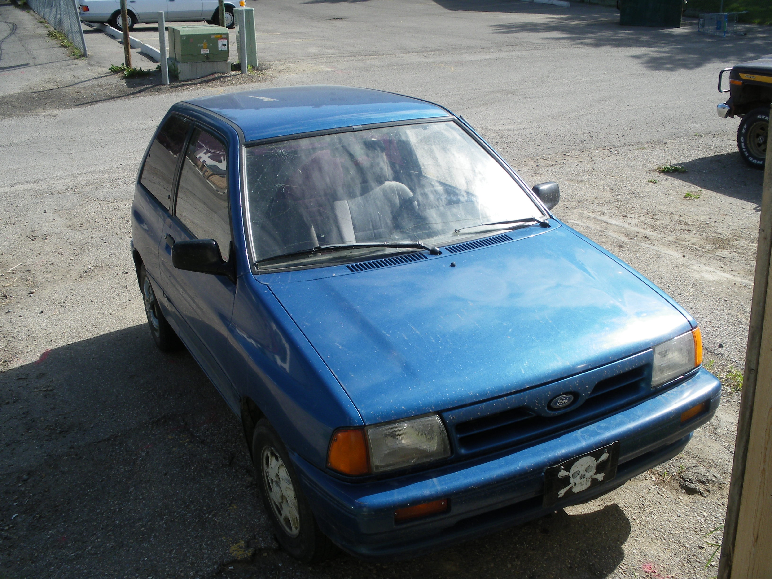 ReZurrection 1991 Ford Festiva