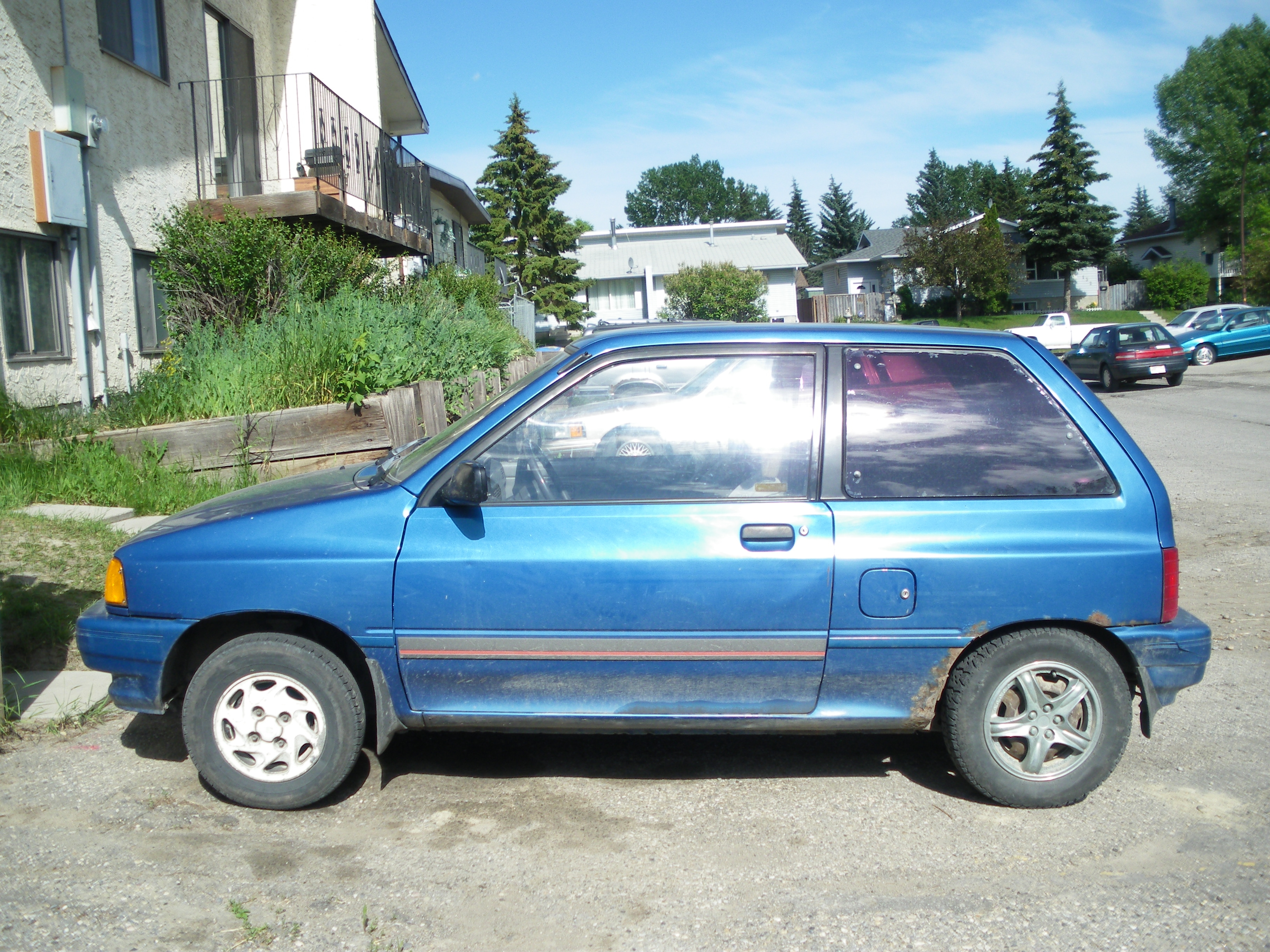 ReZurrection 1991 Ford Festiva 14592217
