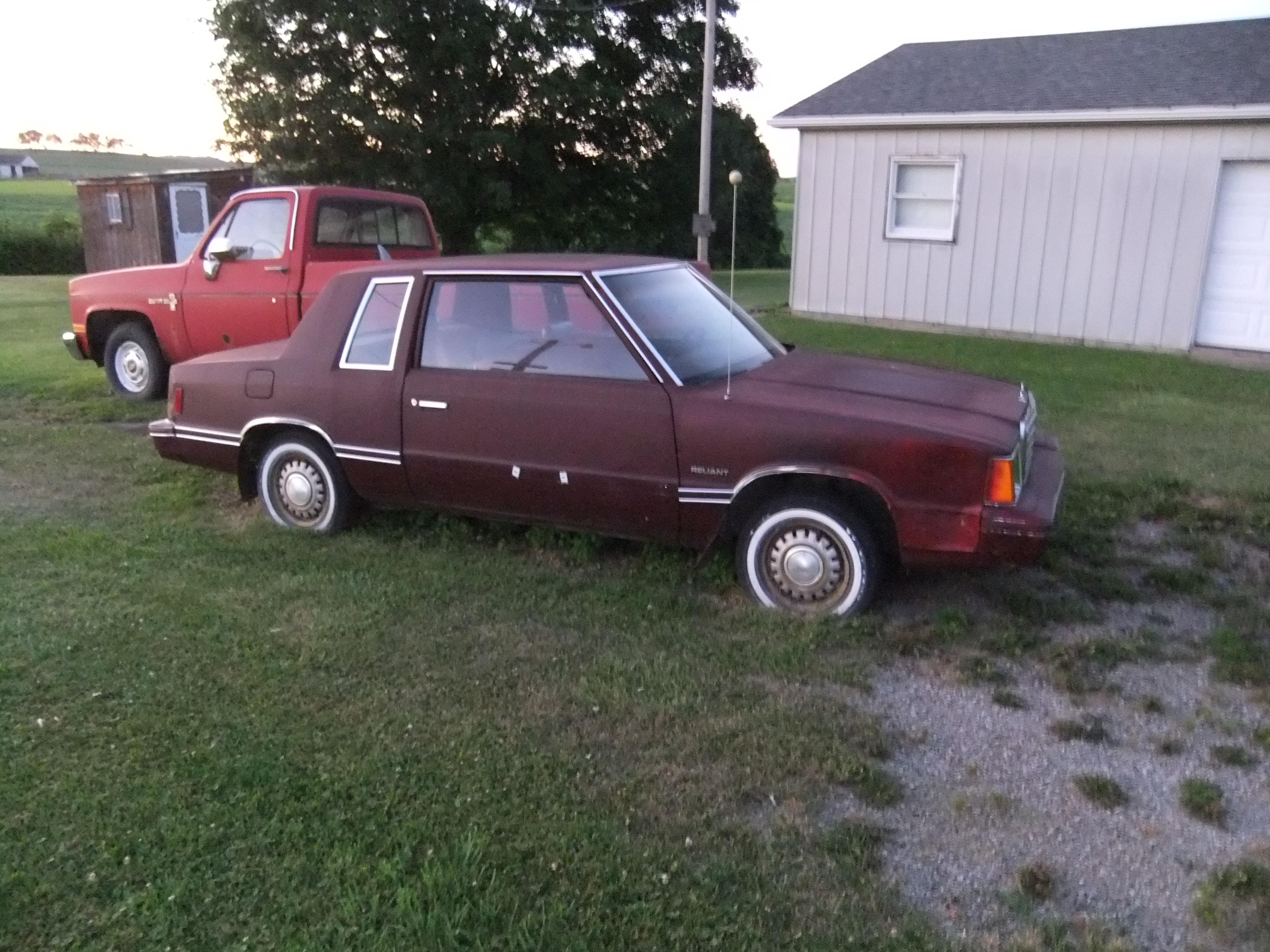 loveolds 1981 Plymouth Reliant