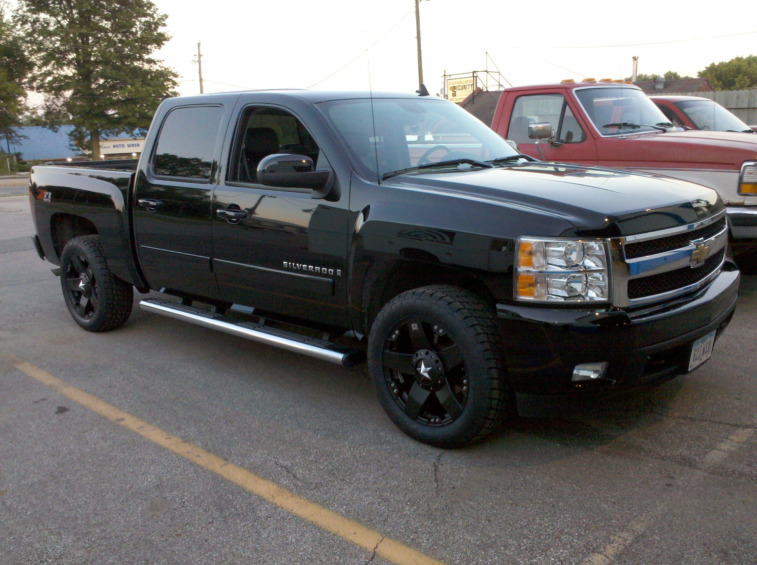 thechadwick06 2008 chevrolet silverado 1500 crew cab specs photos modification info at cardomain. Black Bedroom Furniture Sets. Home Design Ideas