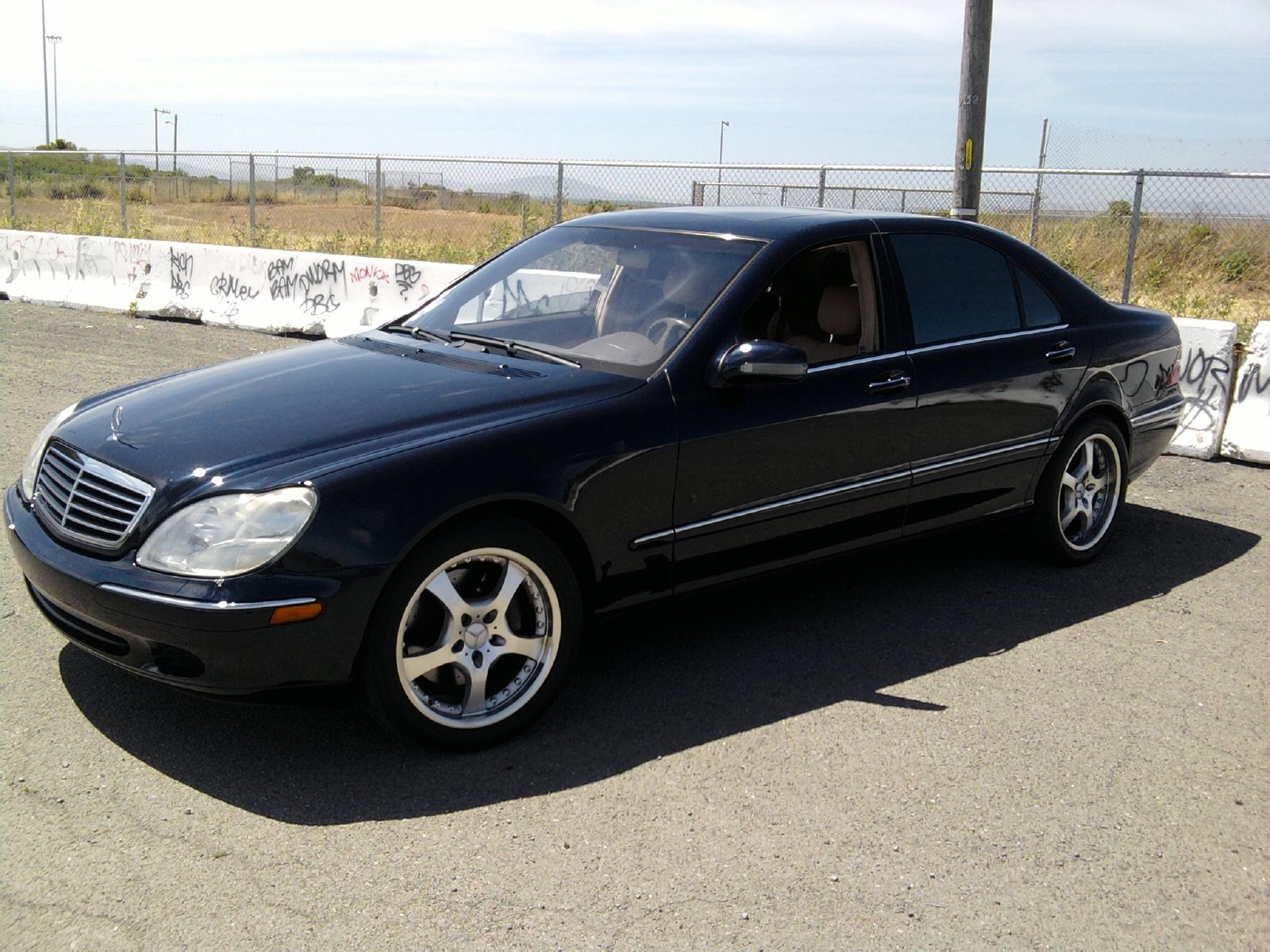 knookonly1 39 s 2002 mercedes benz s class s500 sedan 4d in