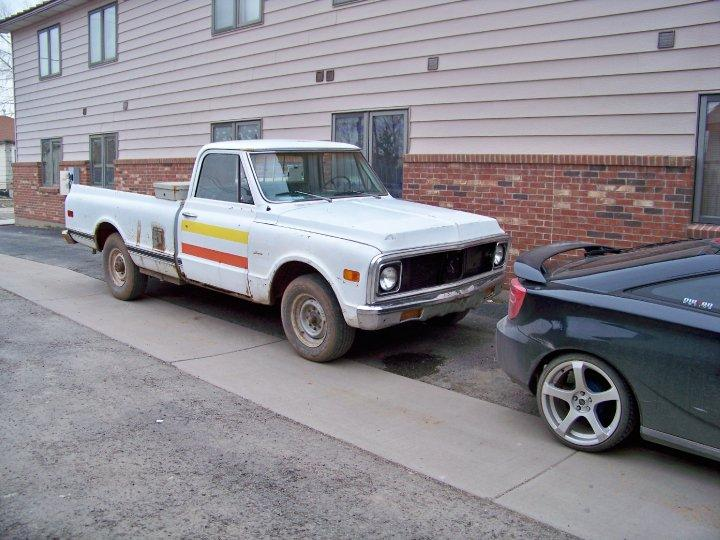 carbonblueceligt 1971 Chevrolet C/K Pick-Up
