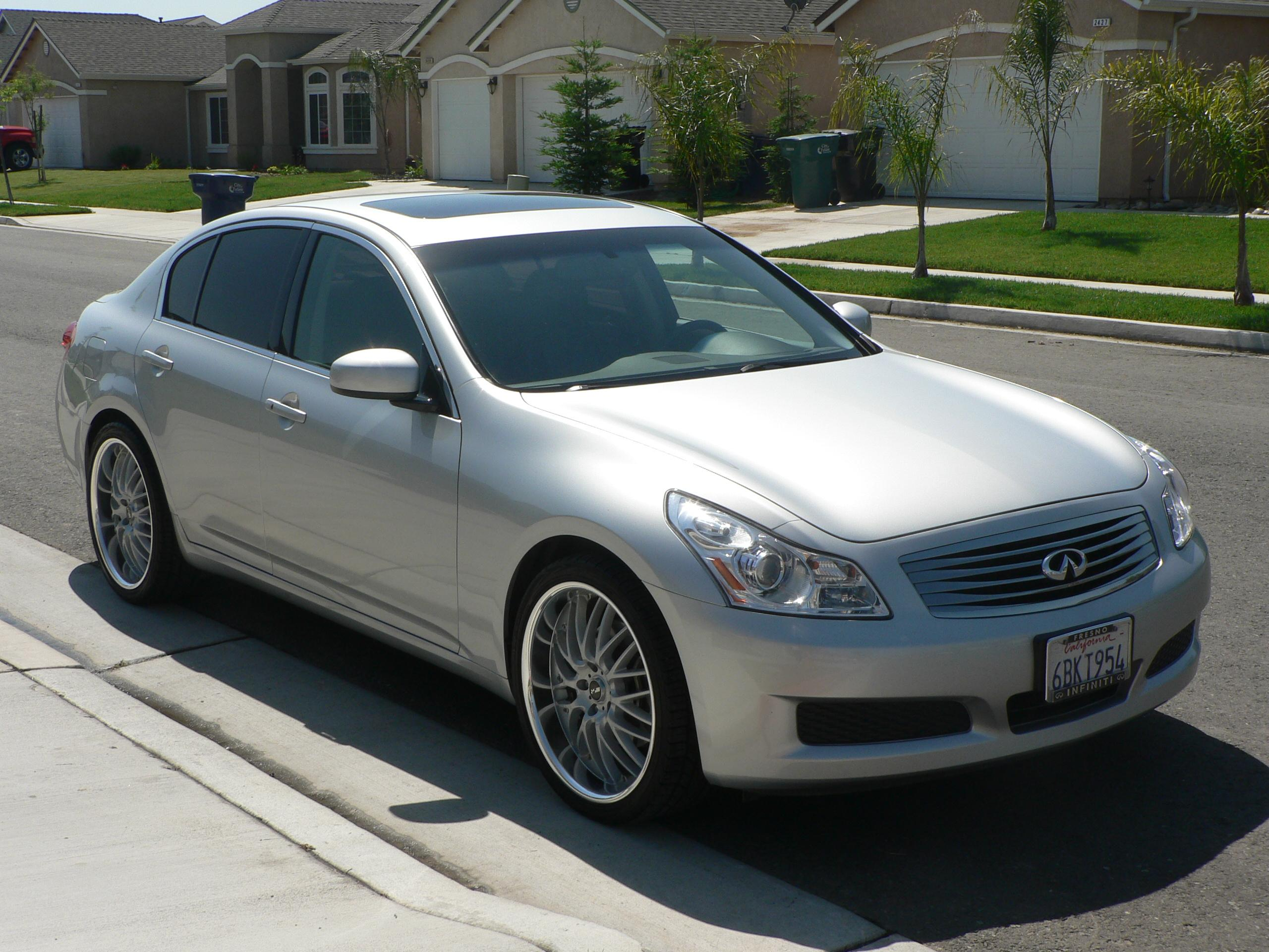 preludegjb 39 s 2007 infiniti g in tulare ca. Black Bedroom Furniture Sets. Home Design Ideas