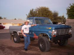 fast69ford 1969 Ford F250 Crew Cab