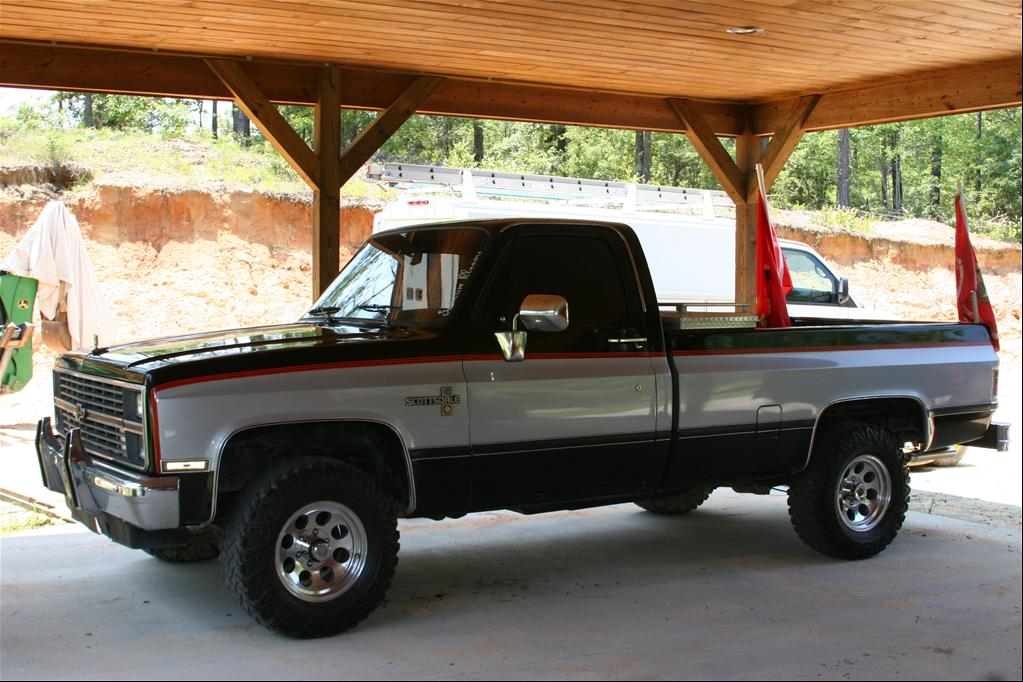 1984 Chevrolet Scottsdale - West Columbia, SC owned by semperfi_1993