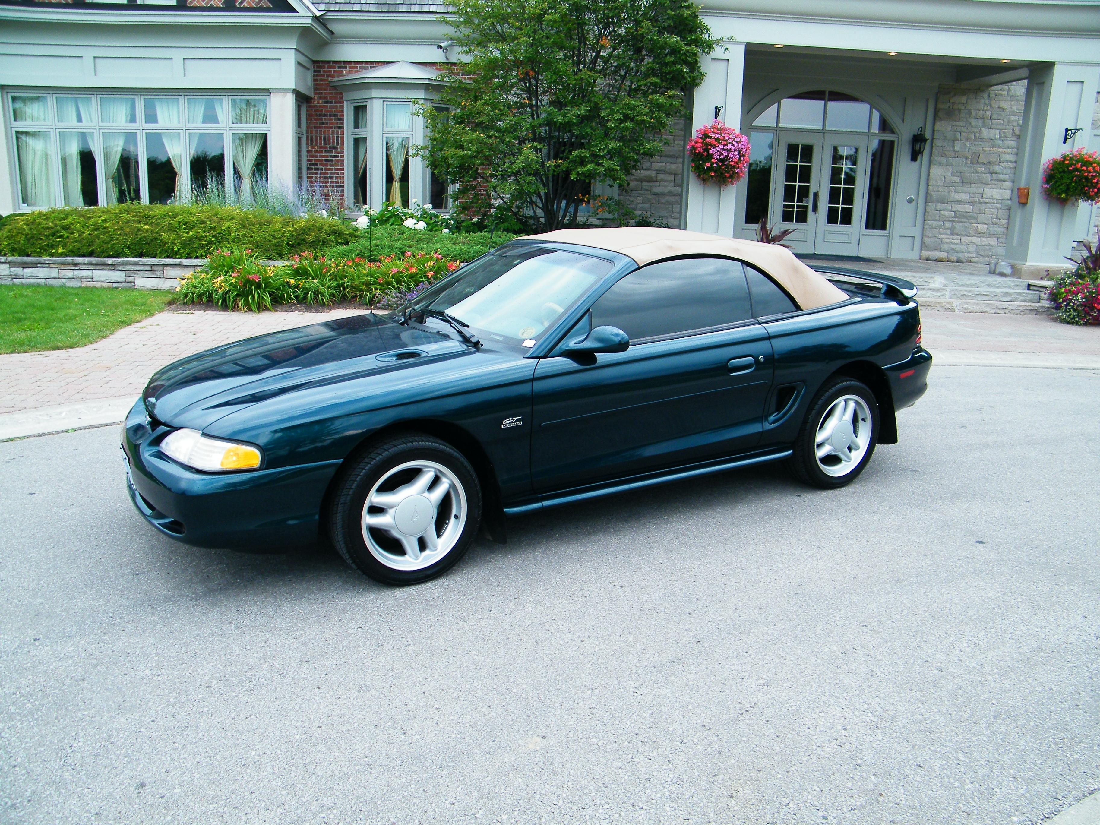 86cougarman 1994 ford mustanggt convertible 2d specs. Black Bedroom Furniture Sets. Home Design Ideas