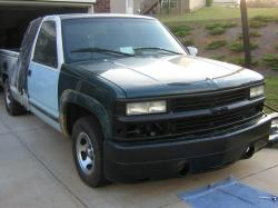 DARKSYDE22s 1995 Chevrolet Silverado 1500 Extended Cab