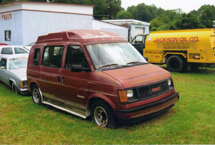 1986 gmc safari van