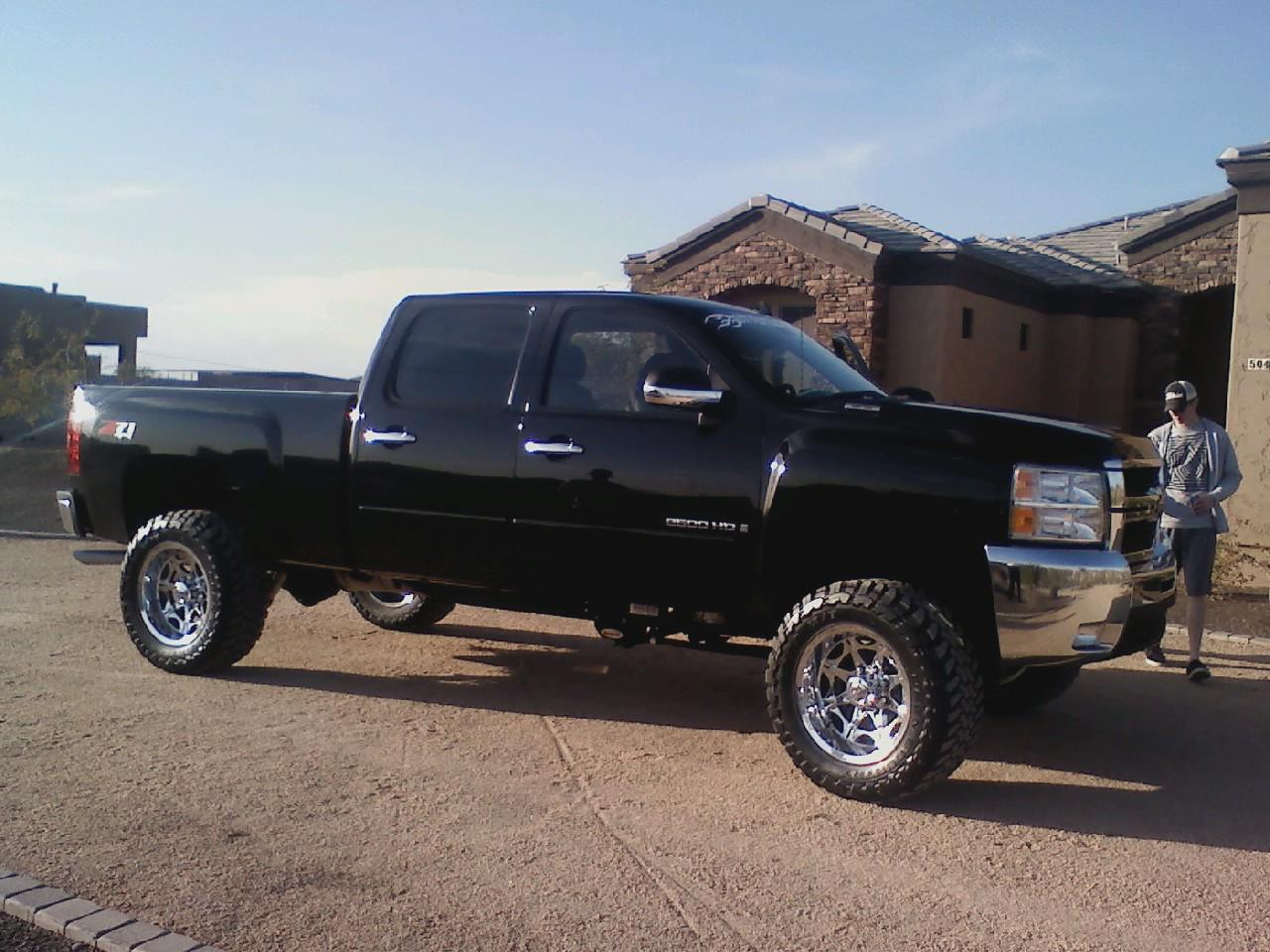 kinger1421 39 s 2007 chevrolet silverado 2500 hd crew cab in the ville ca. Black Bedroom Furniture Sets. Home Design Ideas
