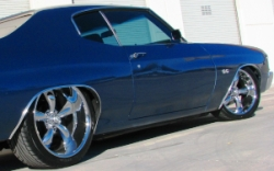 83Bagged720 1972 Chevrolet Chevelle