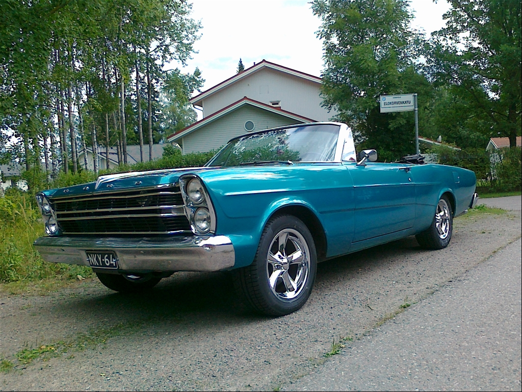 500 Convertible: Ford Galaxie