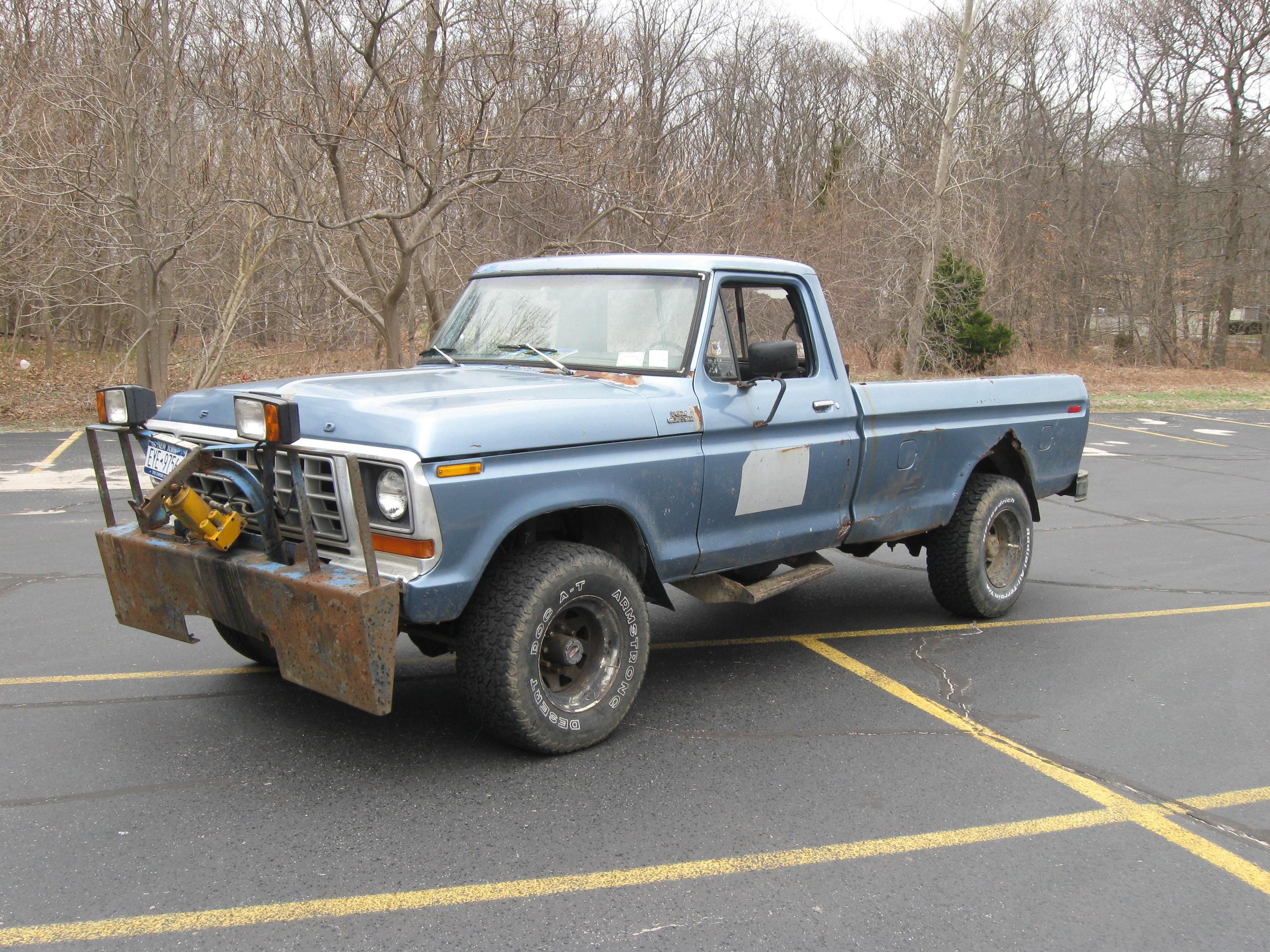 Chevelle72Kid 1978 Ford F250 Crew Cab 14637672