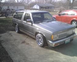 bubblegum816s 1987 Chevrolet S10 Blazer