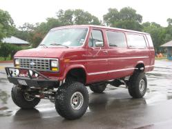 supervan4x4 1991 Ford E350 Super Duty Passenger