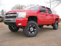 -BIG_RED_CHEVY- 2009 Chevrolet Silverado 1500 Crew Cab
