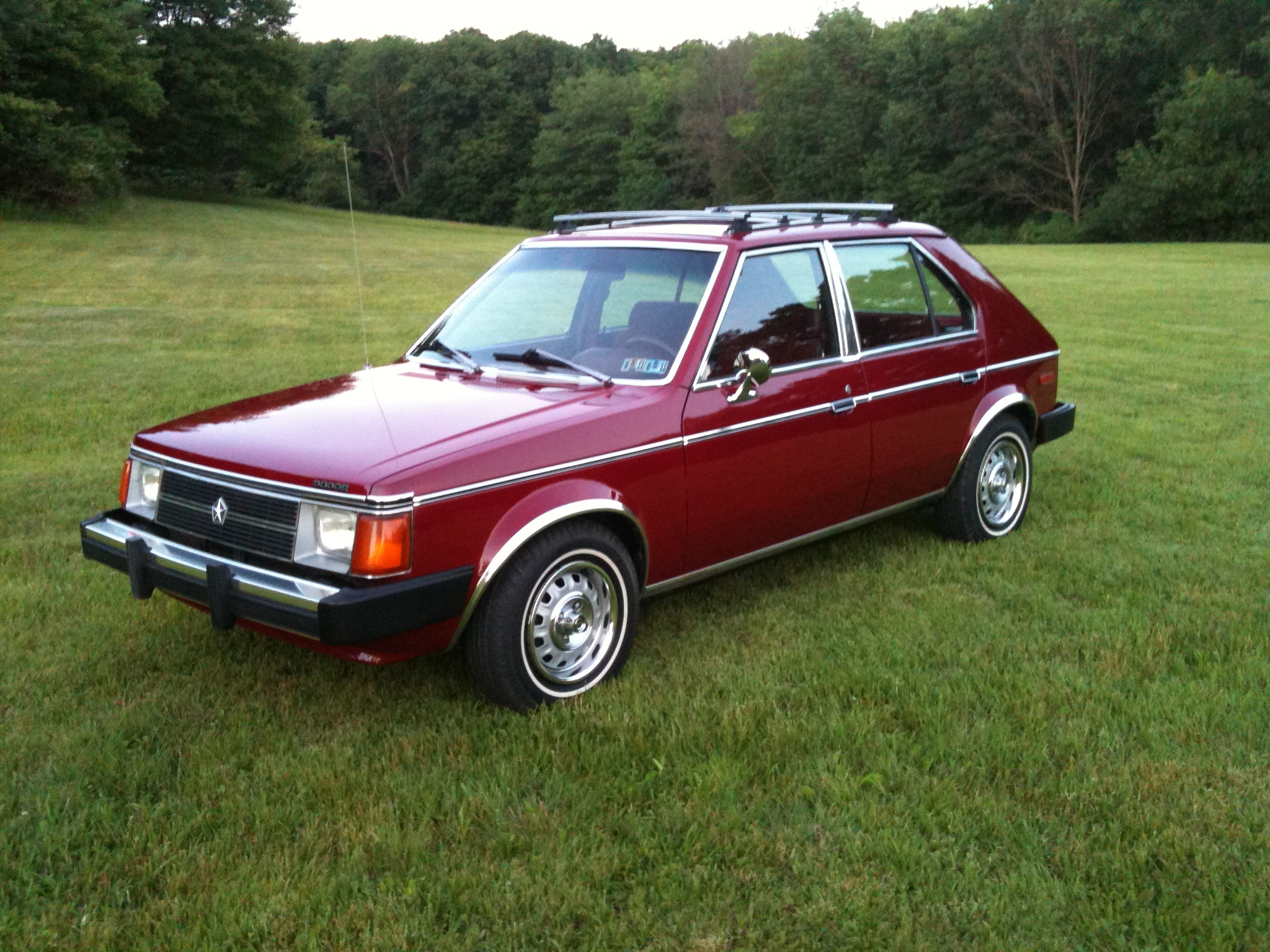 Another robs495 1983 Dodge Omni America post... - 14673906