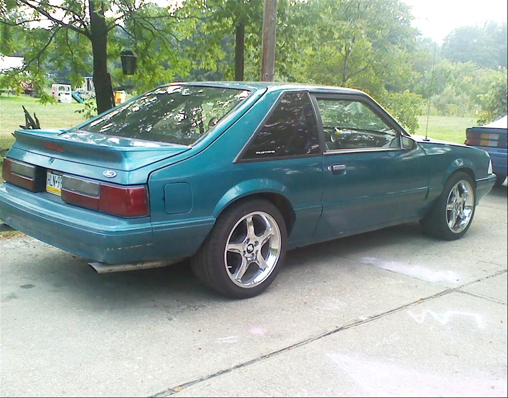1989 Ford Mustang Fox Body The Image
