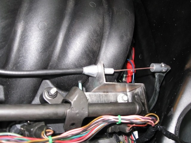 Hooking up throttle cable from Ls1 to original 67 camaro - LS1TECH ...