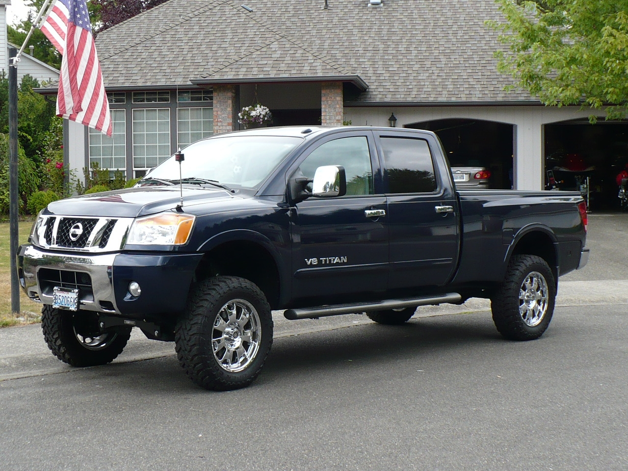 camurano2 2008 nissan titan crew cab specs photos modification info at cardomain. Black Bedroom Furniture Sets. Home Design Ideas