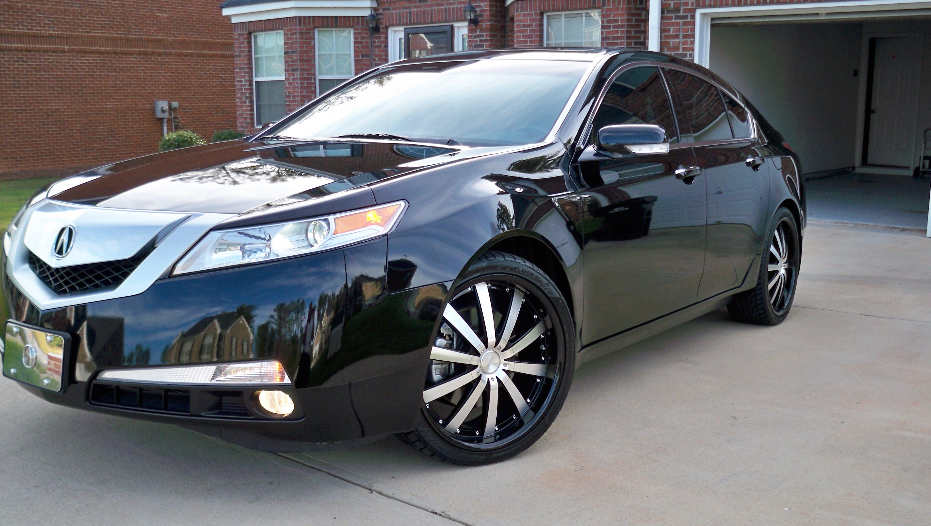 dj1billion1 2009 acura tlsedan 4d specs photos modification info
