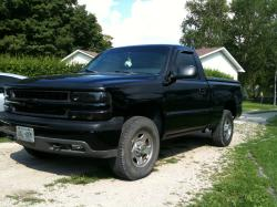 Blacked99 1999 Chevrolet Silverado (Classic) 1500 Regular Cab