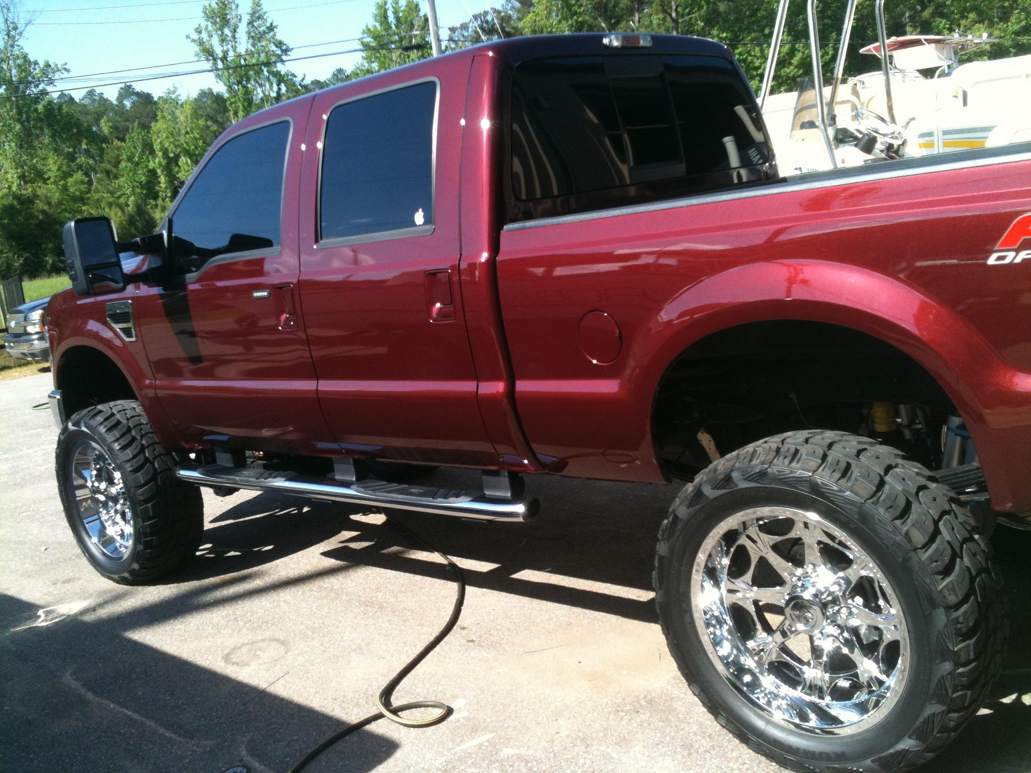 Blackfyncustoms1 2010 Ford F250 Super Duty Crew Cablariat