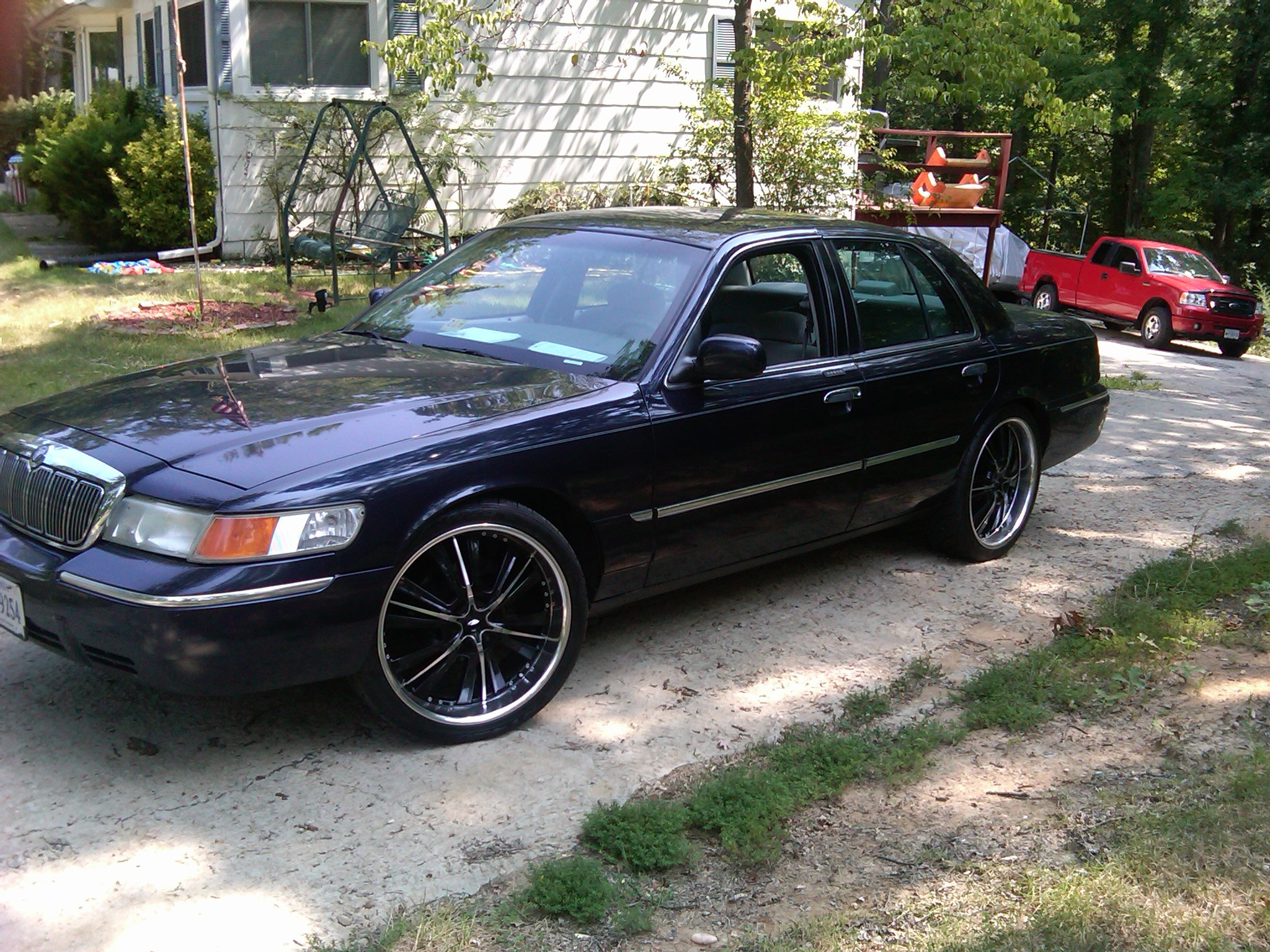 ffwhiteboy 2001 mercury grand marquisls sedan 4d specs photos modification info at cardomain cardomain