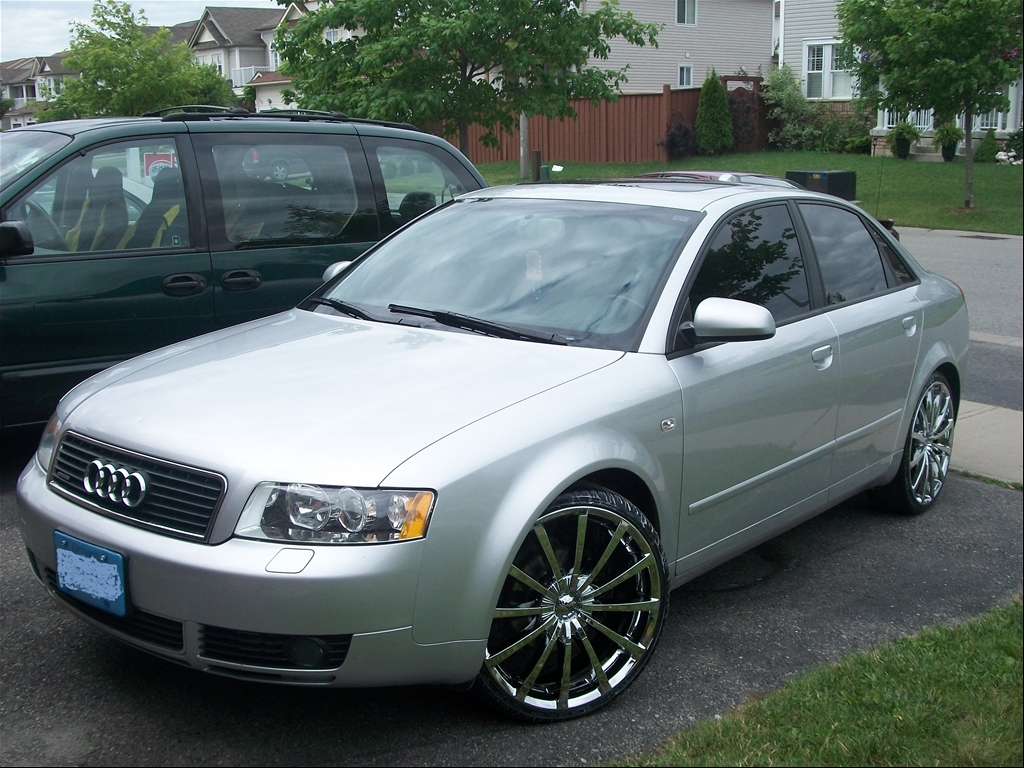 jcrawford 39 s 2004 audi a4 in toronto on. Black Bedroom Furniture Sets. Home Design Ideas