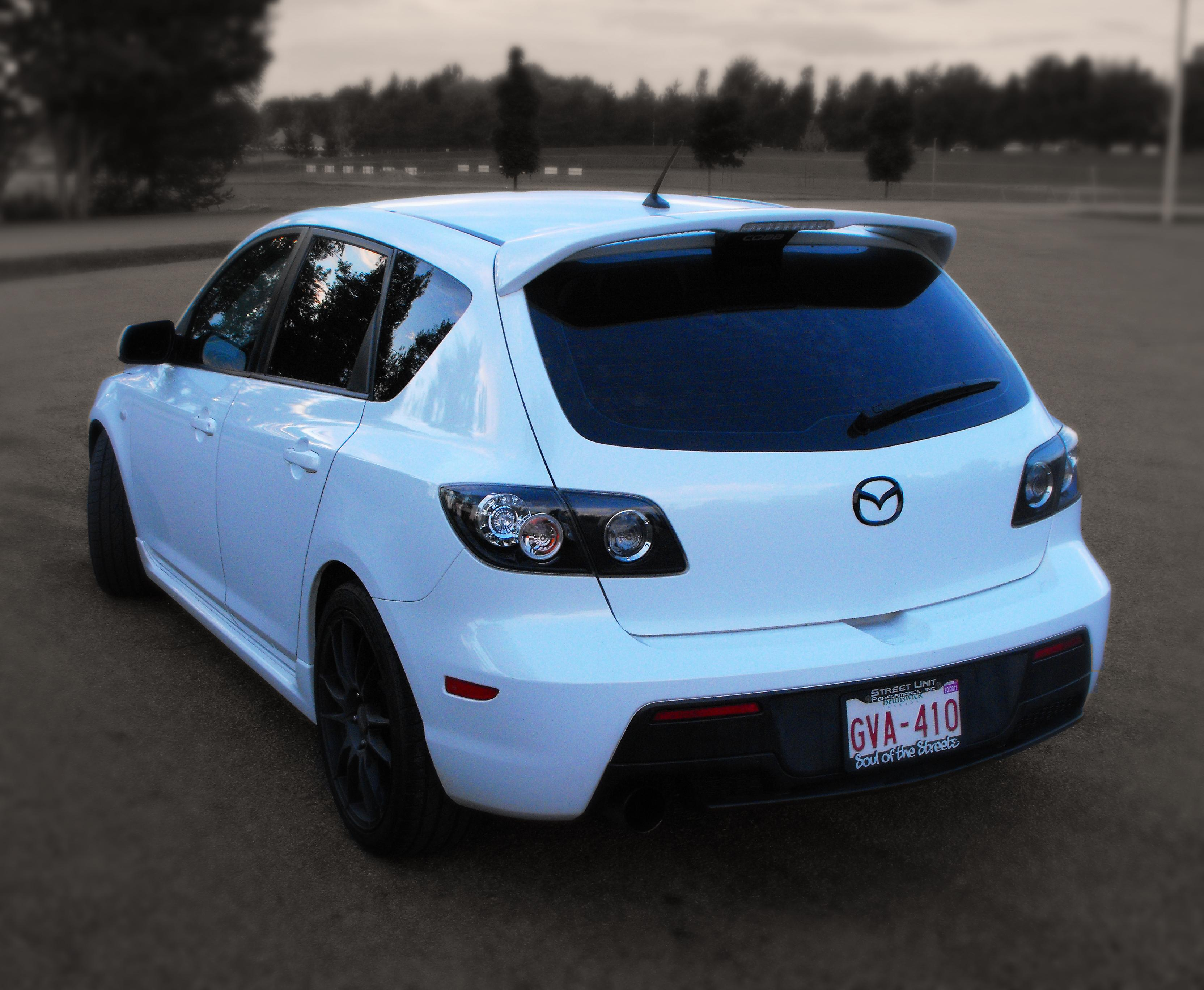 Nbspeed3 2007 Mazda Mazda3mazdaspeed3 Grand Touring
