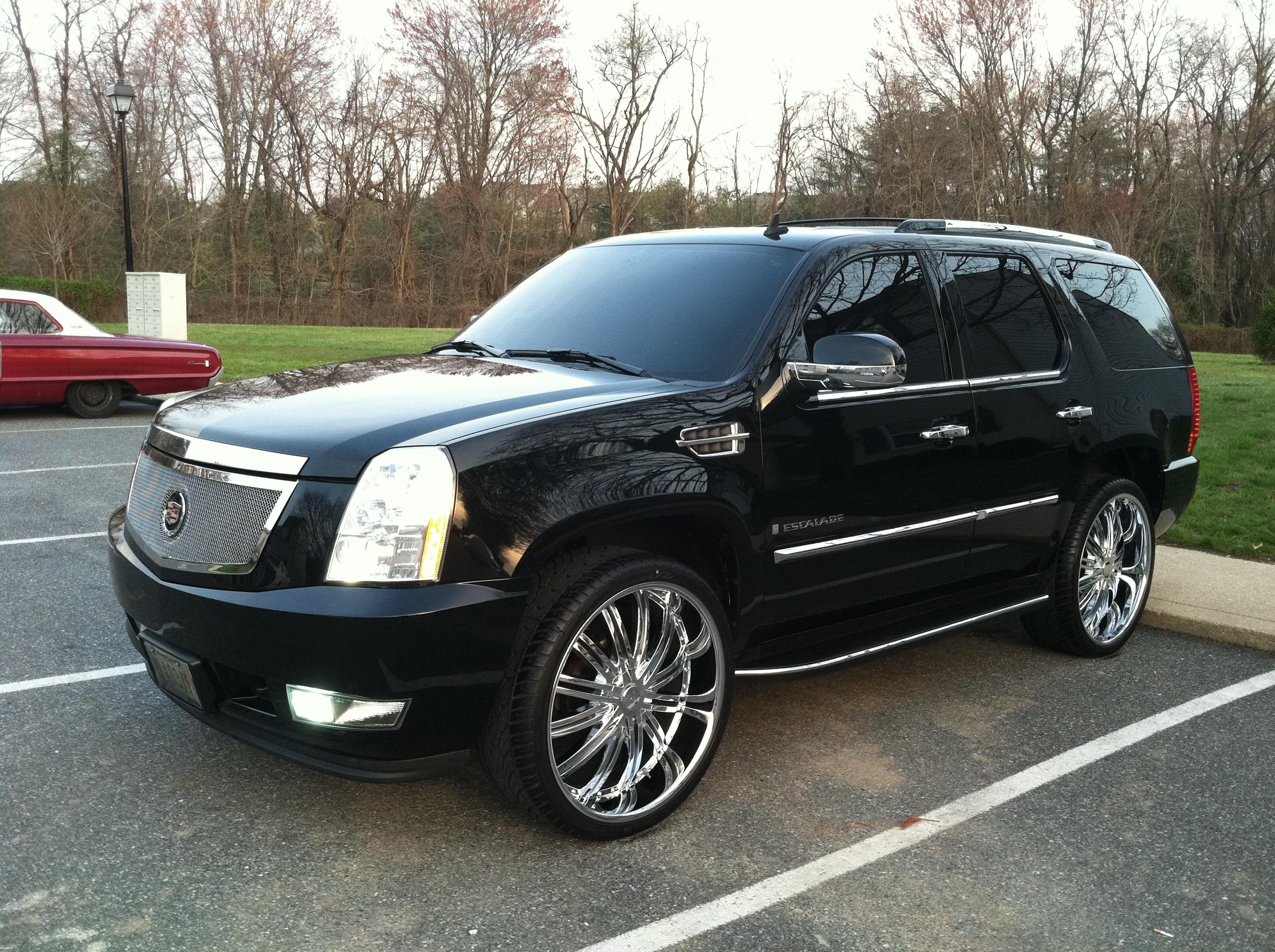 hollywood19 2007 cadillac escaladesport utility 4d specs photos modification info at cardomain. Black Bedroom Furniture Sets. Home Design Ideas