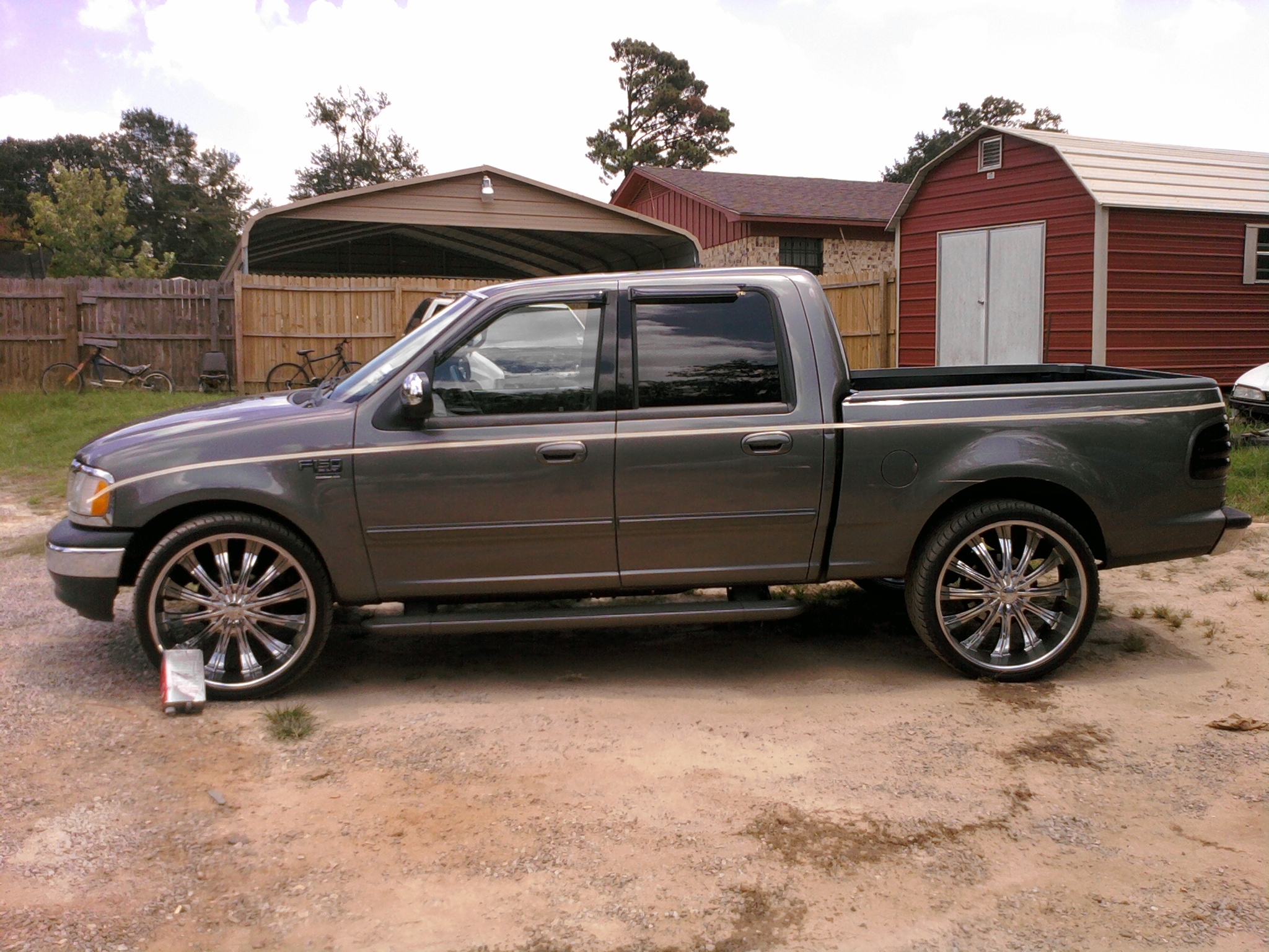 octobersown 2002 ford f150 supercrew cab specs photos modification info at cardomain. Black Bedroom Furniture Sets. Home Design Ideas